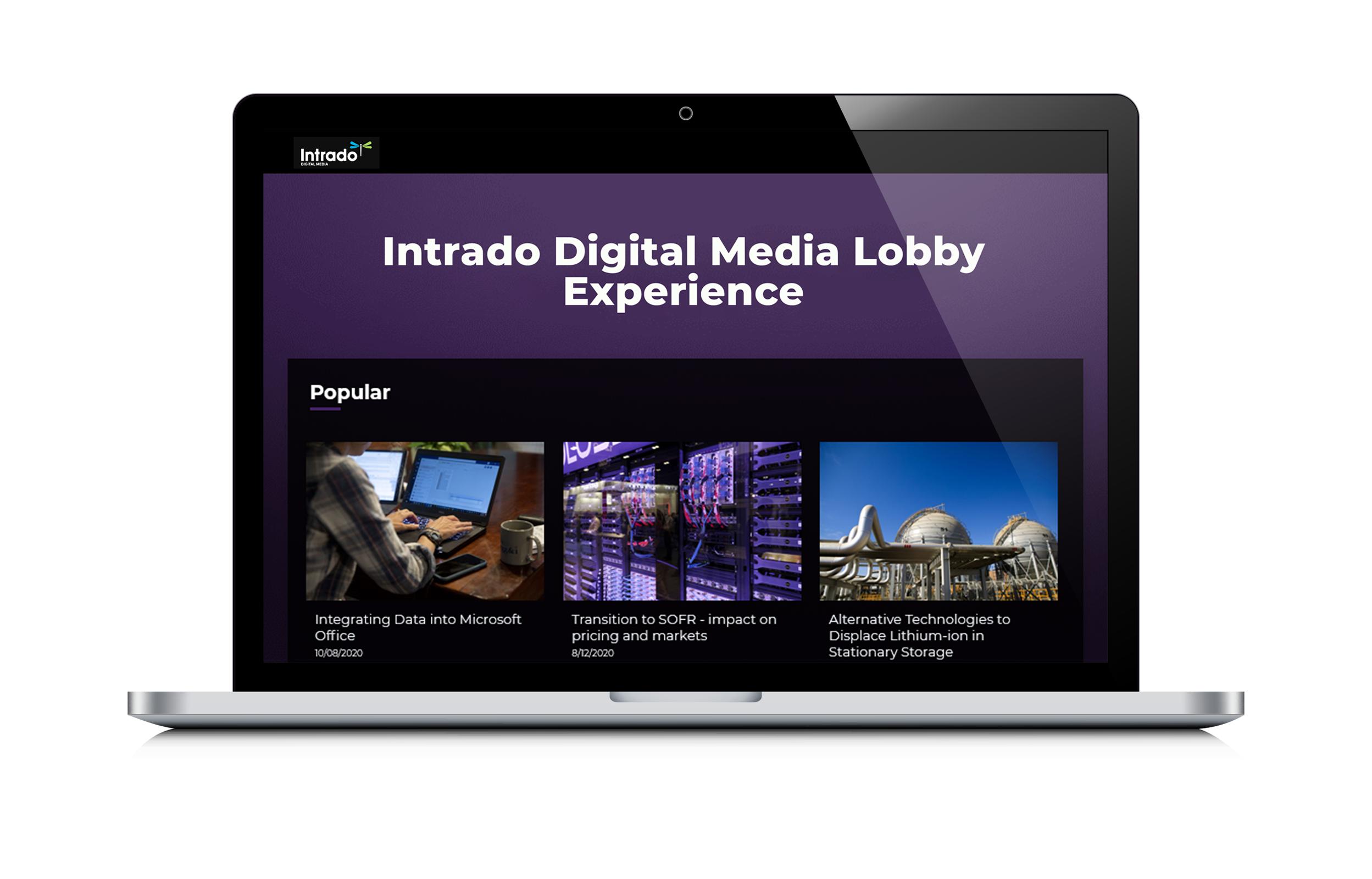 Post-Webcast Lobby