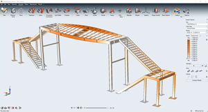 Altair Inspire can run a modal analysis on large assemblies with speed and accuracy