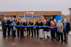 Mid Penn Bank Celebrates Opening of Hazle Township Office with Ribbon Cutting Ceremony