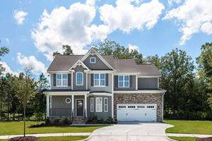 The Anthony floor plan is available in several LGI Homes Raleigh-area communities starting in the $230s.