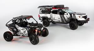 Gentex Michigan-Themed Chevy Colorado and Polaris RZR