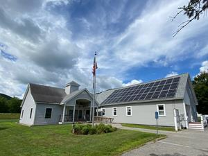 Shelburne, NH Town Hall with Enphase Microinverters