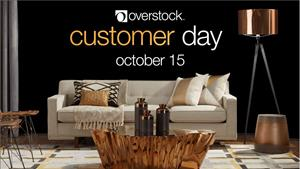 Overstock Customer Day, October 15, 2018