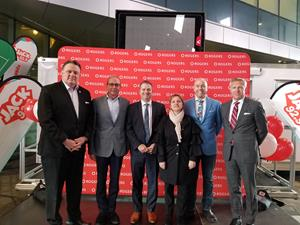 Rogers Communications celebrates the grand opening of Rogers Square at the Nova Centre in Halifax.