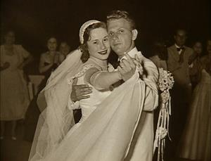 Henry and Marion Bloch at Wedding