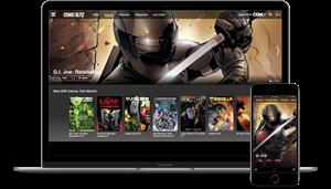ComicBlitz Interface