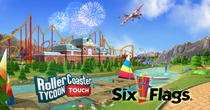 RollerCoaster Tycoon Touch - Six Flags Update