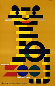London zoo poster