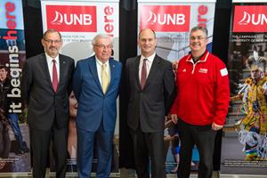 OSISKO METALS PARTICIPATES IN A $250,000 DONATION TO UNB FOR THE CREATION OF THE OSISKO FIELD EDUCATION FUND