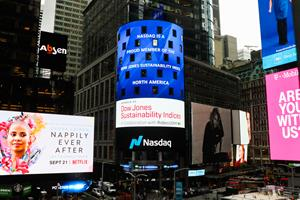 Nasdaq named to Dow Jones Sustainability North America Index