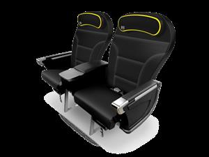New Spirit Airlines Big Front Seat