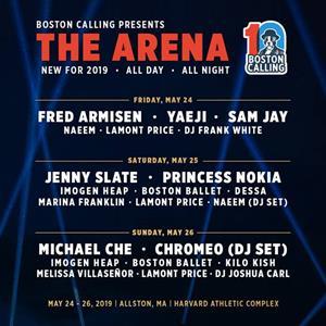 Boston Calling Arena Lineup