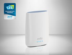 Orbi Whole Home Wi-Fi System with Built-in Cable Modem