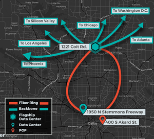 INAP's Metro Connect-enabled Dallas Market