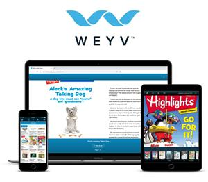 WEYV Now Offers Highlights Kids Magazines and E-books