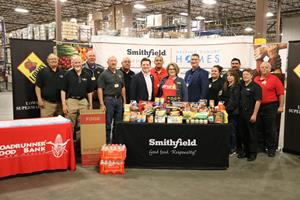 Smithfield Foods Achieves Donations in All 50 States