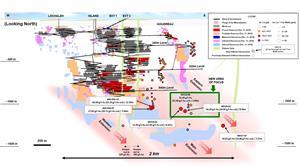 Figure 1: Island Gold Mine Longitudinal