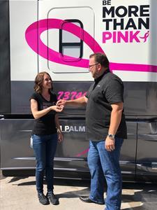 Werner Enterprises Race for the Cure Truck Presentation