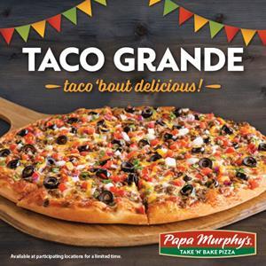 Papa Murphy's Taco Grande Pizza