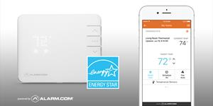 The Alarm.com Smart Thermostat Earns ENERGY STAR® Certification