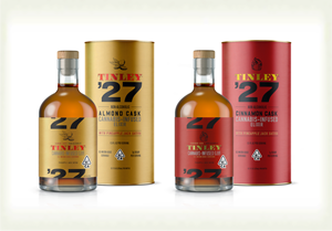 Tinley '27 Liquor-Inspired Cannabis Beverages