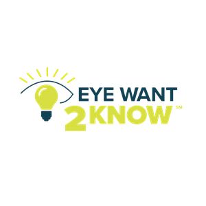 Eye Want 2 Know Logo