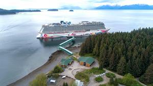 Norwegian Joy at Icy Strait Point