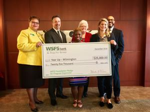 WSFS Foundation donates $25,000 to Year Up Wilmington