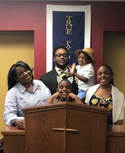 Sgt. Herbert Jackson family