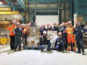 Nemaska Lithium's team