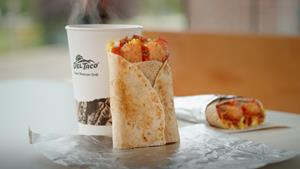 Del Taco's New Breakfast Toasted Wrap