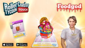 RollerCoaster Tycoon Touch - Foodgod Waffle