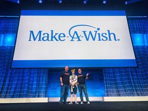 Make-A-Wish Wish Reveal
