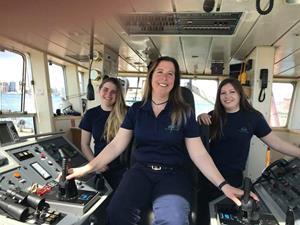 All Female Atlantic Towing Crew