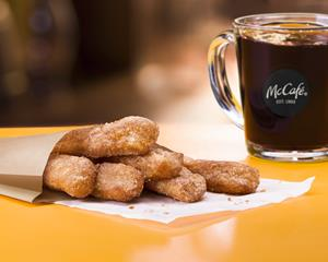 McDonald's Introduces McCafé Donut Sticks, Sweetens Up Valentine's Day Week with a Perfect Pair to McCafé Coffee