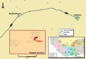 Figure 1: Simplified map of the Fetekro property showing Lafigué.jpg