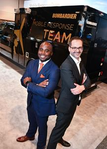 Captain Barrington Irving collaborates with Bombardier