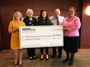 WSFS Foundation donates $25,000 to the Delaware ProStart Program