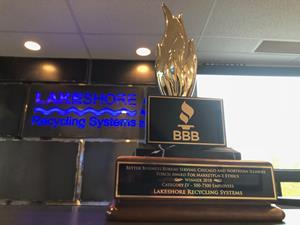 Better Business Bureau Torch Award for Marketplace Ethics