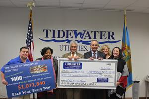 Tidewater Supports Student Mentoring