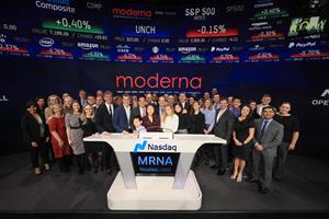Moderna, Inc. (NASDAQ:<a class=