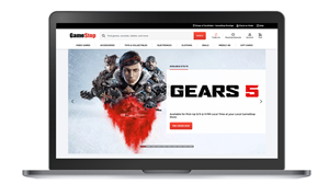 Redesigned GameStop.com