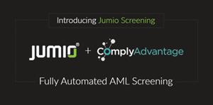 Jumio Partners with ComplyAdvantage to Reduce AML Risk Exposure