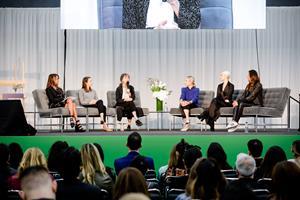 Marci Zaroff, Kathleen Talbot, Amy Hall, Nina Farran, Sheila Shekar Pollak
