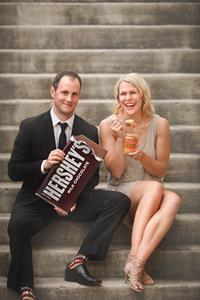 Jenny Ries and Craig Hirschey in Hershey, PA