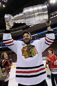 Nick Boynton Chicago Blackhawks Stanley Cup