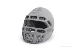 Kupol helmet created with BASF TPU for HP Jet Fusion 5200 Series