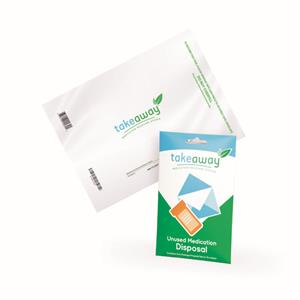 TakeAway Medication Recovery System Envelopes