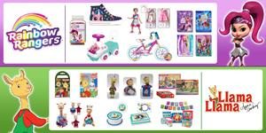 Genius Brands International's Preschool brands, Rainbow Rangers, and Llama Llama