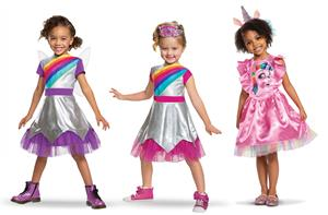 Genius Brands International's Rainbow Rangers Halloween Costumes
